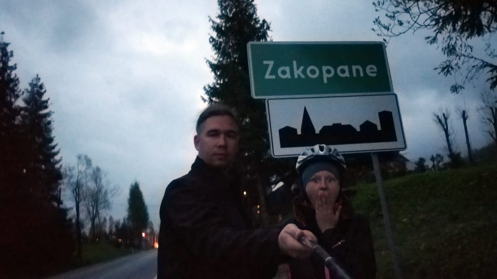 Cel osiągnięty, jesteśmy w Zakopanem!, Źródło: archiwum prywatne.