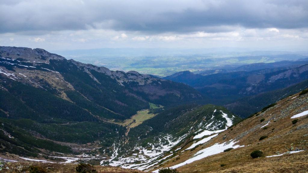 Widok na Kondratową Dolinę
