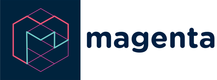 Logo projektu Magenta