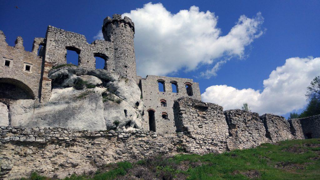 Ruiny Zamku w Ogrodzieńcu, źródło: archiwum prywatne.