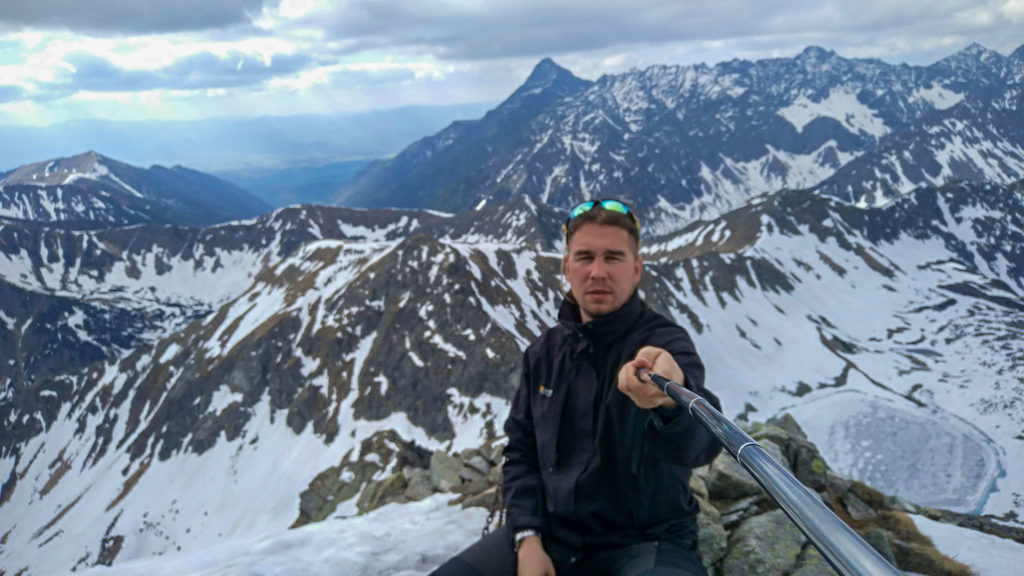 Selfie na szczycie