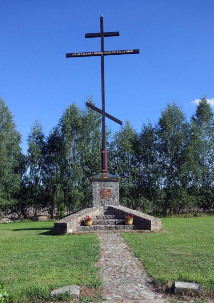 Krzyż ku czci Unitów Podlasia
